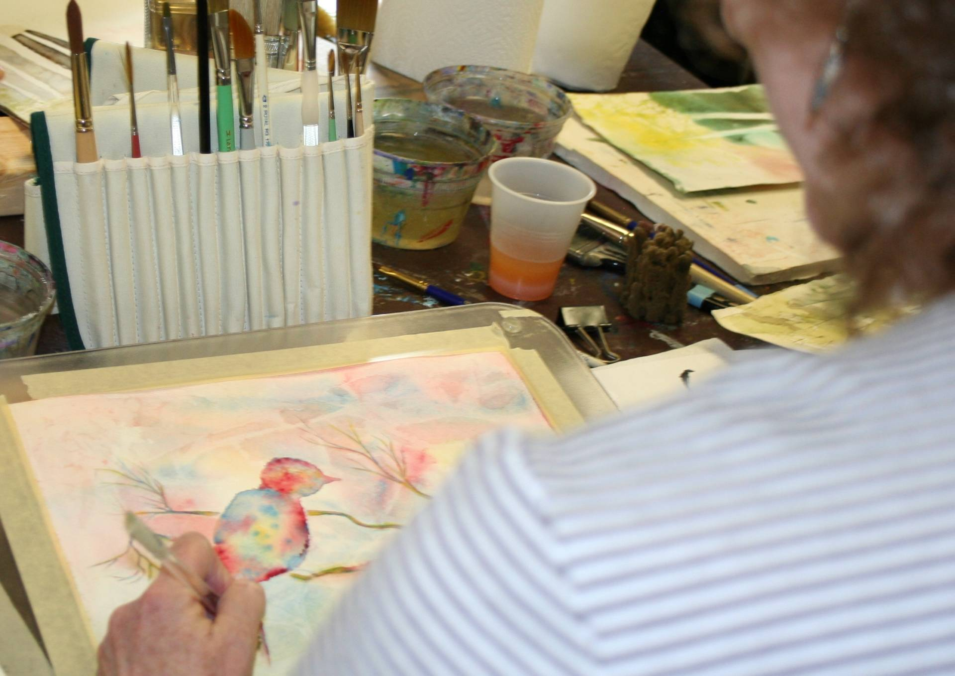 Watercolor monday art lab for 224 richmond terrace staten island