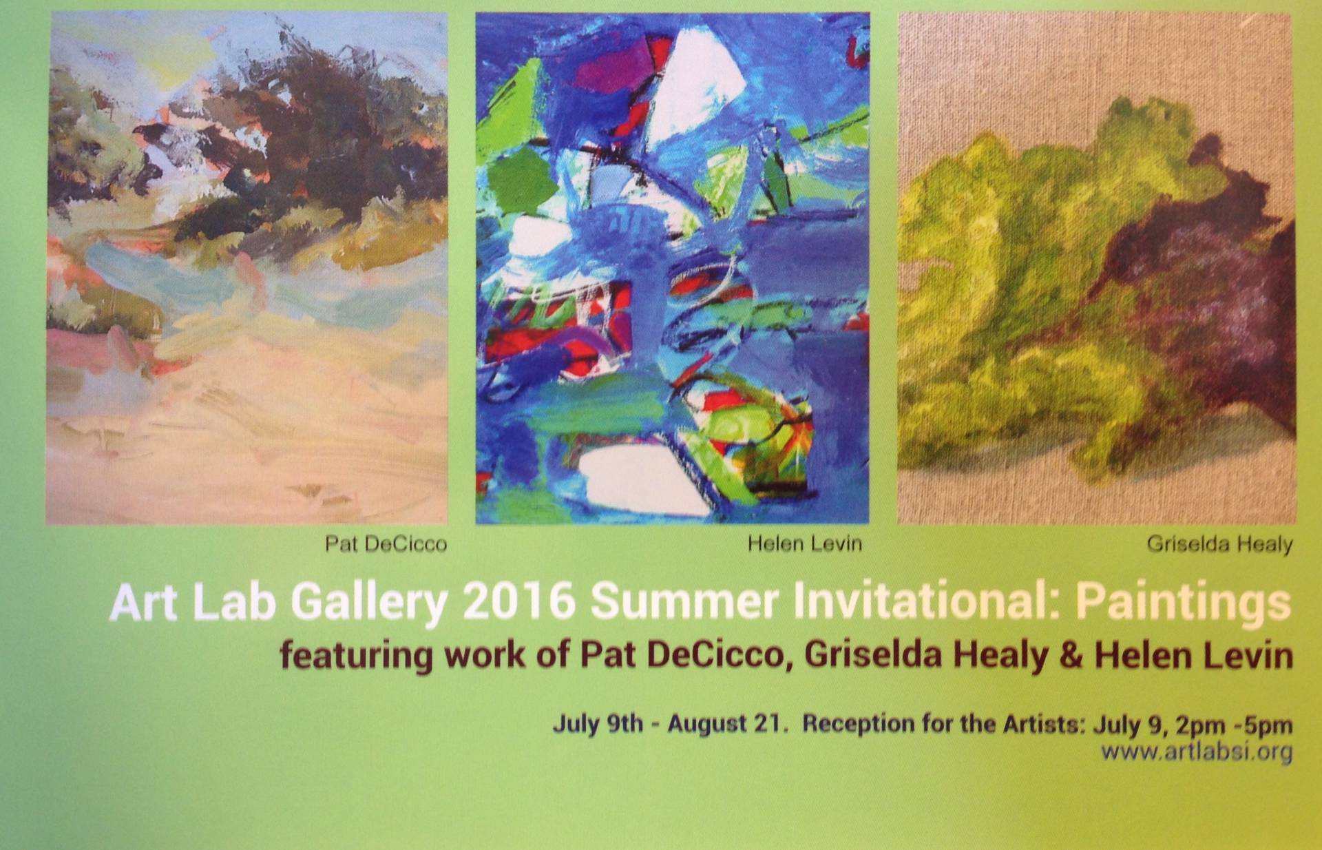 Details on Art Lab's Summer Invitational for 2016
