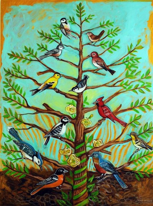 """Backyard Birds"" - Kira Yustak"