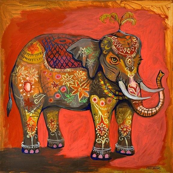 """""""Lucky Elephant"""" - Kira Yustak"""
